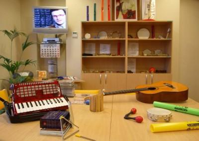 Sala de taller ocupacional
